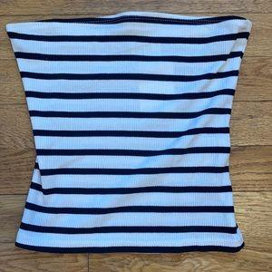 H&M NWT Striped Tube Top